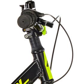s'cool faXe 18 3-S alloy Kids, black/lemon matt